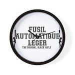 FAL- Fusil Automatique Leger Wall Clock