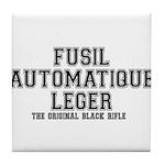 FAL- Fusil Automatique Leger Tile Coaster