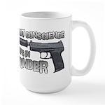 HK USP Handgun Silencer Large Mug