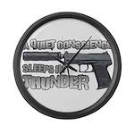 HK USP Handgun Silencer Large Wall Clock