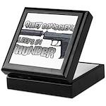 HK USP Handgun Silencer Keepsake Box