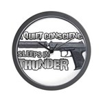 HK USP Handgun Silencer Wall Clock