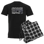 HK USP Handgun Silencer Men's Dark Pajamas