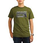 HK USP Handgun Silencer Organic Men's T-Shirt (dar
