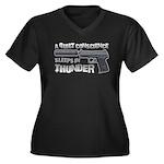 HK USP Handgun Silencer Women's Plus Size V-Neck D