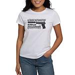 HK USP Handgun Silencer Women's T-Shirt