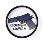 1911 Cocked & Locked Wall Clock