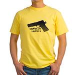 1911 Cocked & Locked Yellow T-Shirt