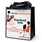 Sisterhood Social Distancing Reusable Grocery Tote