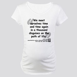 Jung Path of Life Maternity T-Shirt