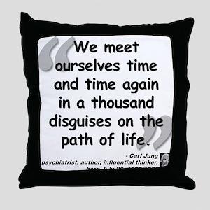 Jung Path of Life Throw Pillow