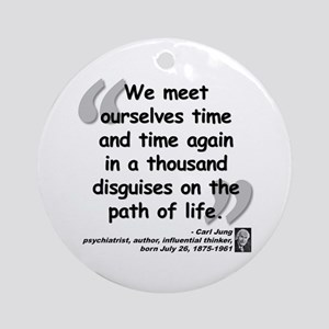 Jung Path of Life Ornament (Round)