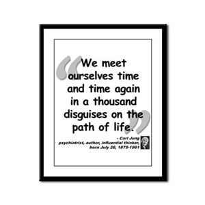 Jung Path of Life Framed Panel Print