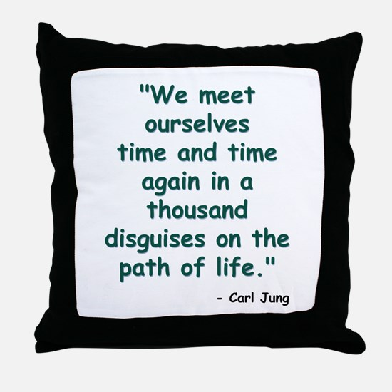 Path of Life Throw Pillow