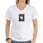 Dr. GriGri's Prof. Sue Ture Women's V-Neck T-Shirt