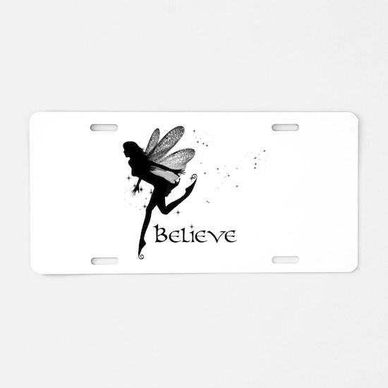 Believe Aluminum License Plate