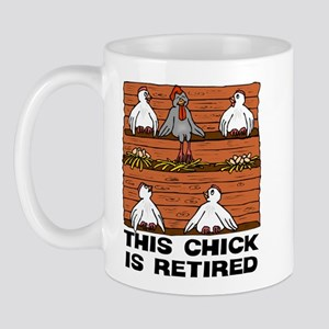 Retired Chick Mug