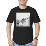 Canadian Geese (no text) Men's Fitted T-Shirt (dar
