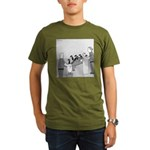 Canadian Geese (no text) Organic Men's T-Shirt (da