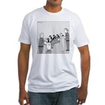 Canadian Geese (no text) Fitted T-Shirt