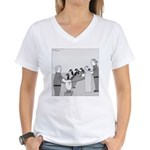 Canadian Geese (no text) Women's V-Neck T-Shirt