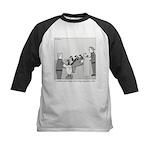 Canadian Geese Kids Baseball Jersey