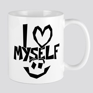 I love myself Smiley Mugs