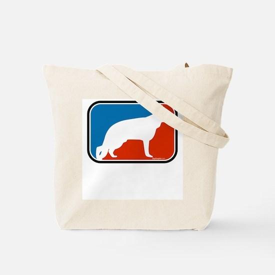 RWB German Shepherd Tote Bag