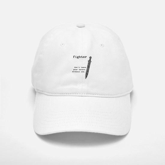 Fighter's Sword Baseball Baseball Cap