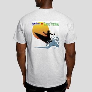 globalwarmingsurfer Ash Grey T-Shirt