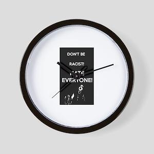 HATE EVERYONE Wall Clock