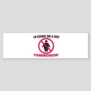 TOMMOROW Sticker (Bumper)