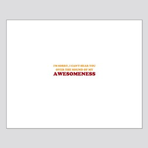 Sound of Awesomeness Small Poster