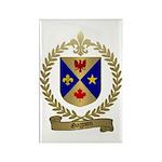 GAGNON Family Crest Rectangle Magnet (10 pack)