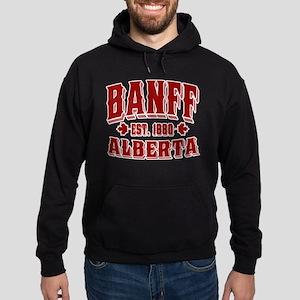 Banff Old Style Canada Red Hoodie (dark)