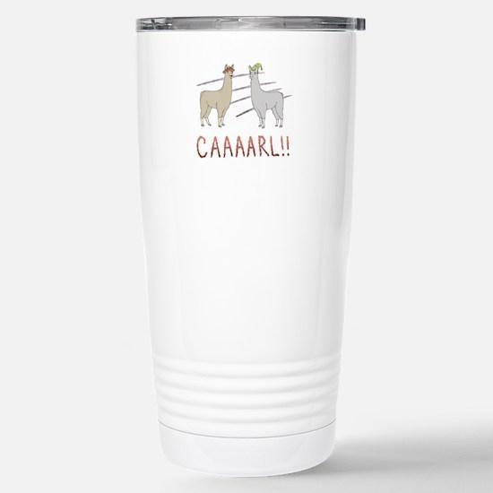 CAAAARL!! Stainless Steel Travel Mug