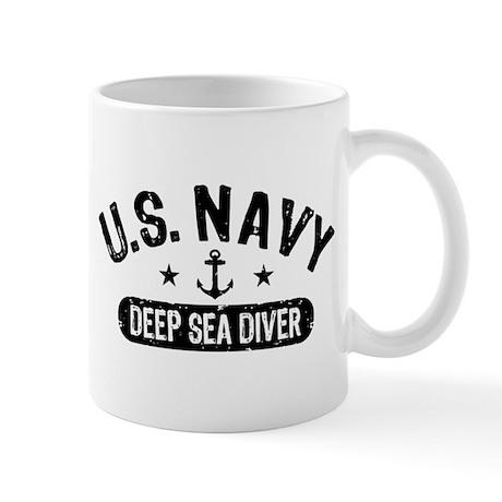 U.S. Navy Deep Sea Diver Mug