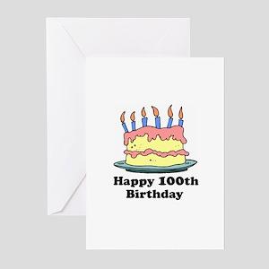 Happy 100th Birthday Greeting Cards