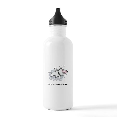 Angel Bull Terrier Stainless Water Bottle 1.0L