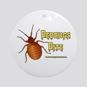Bed Bugs Bite Ornament (Round)