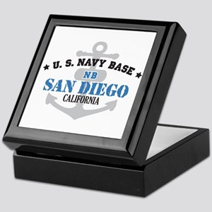 US Navy San Diego Base Keepsake Box