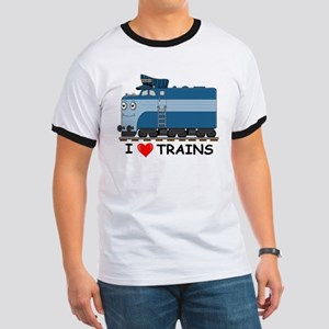 HATWHEEL TRAIN Ringer T