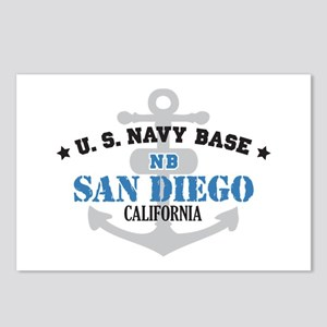 US Navy San Diego Base Postcards (Package of 8)