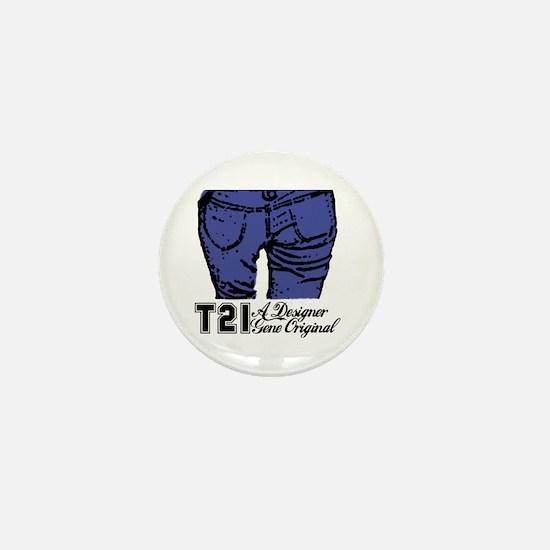T21 Designer Genes Mini Button