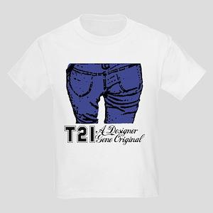 T21 Designer Genes Kids Light T-Shirt