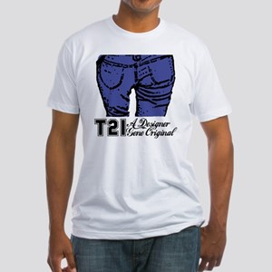 T21 Designer Genes Fitted T-Shirt