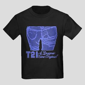 T21 Designer Genes Kids Dark T-Shirt