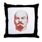 Lenin Throw Pillow