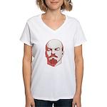 Lenin Women's V-Neck T-Shirt