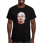 Lenin Men's Fitted T-Shirt (dark)